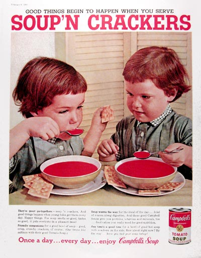 1960 Campbell's Tomato Soup #017700