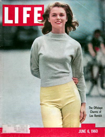 1960 Life Cover - Lee Remick #015339