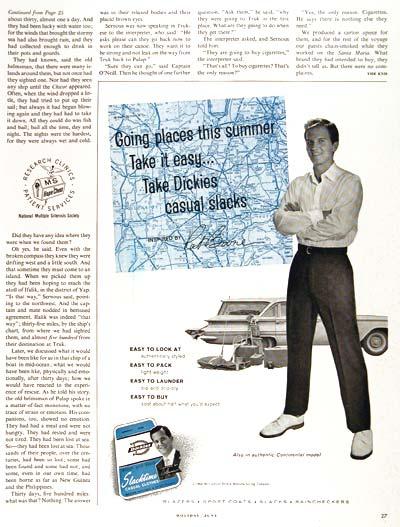 1960 Slacktime Casuals