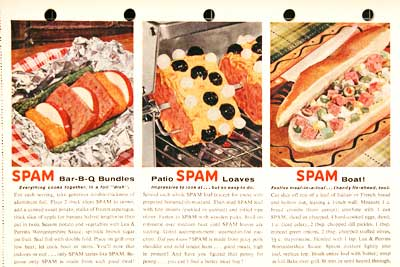 spam recipes art