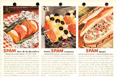 spam recipes art
