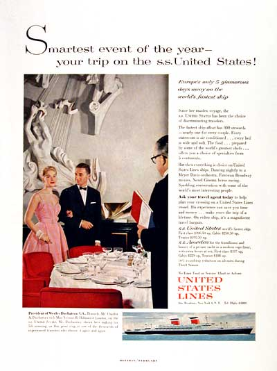 1960 United States Lines #002365