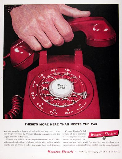 1960 Western Electric Bell Telephone #015435