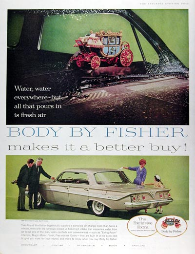 1961 Fisher Body #017970