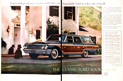 1961 Ford Country Squire Wagon #002425