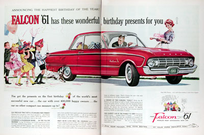 1961 Ford Falcon Coupe #011324