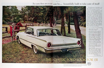 1961 Ford Galaxie Club Victoria Coupe #017943