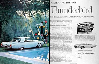 1961 Ford Thunderbird #003096