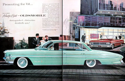 1961 Oldsmobile 98 Sedan Coupe #011347