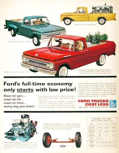 1962 Ford Pickups #024870
