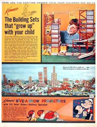 1962 Kenner Toys