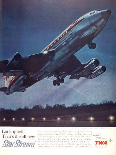 1962 TWA Star Stream