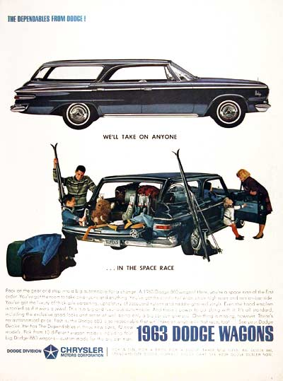 1963 Dodge 880 Wagon #002467