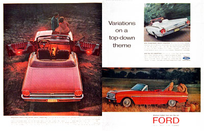 1963 Ford Convertibles #003337