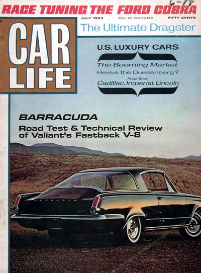 1964 Car Life - Plymouth Barracuda Debut #023311