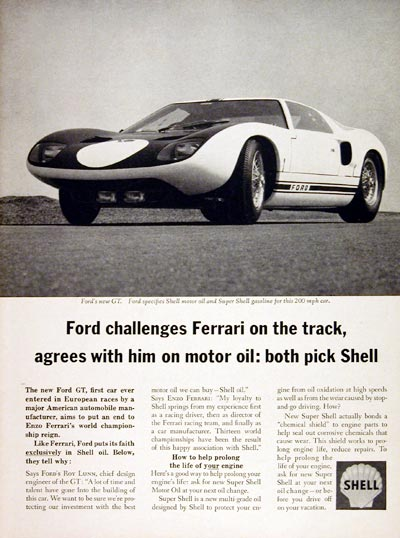 Shell Ford Gt