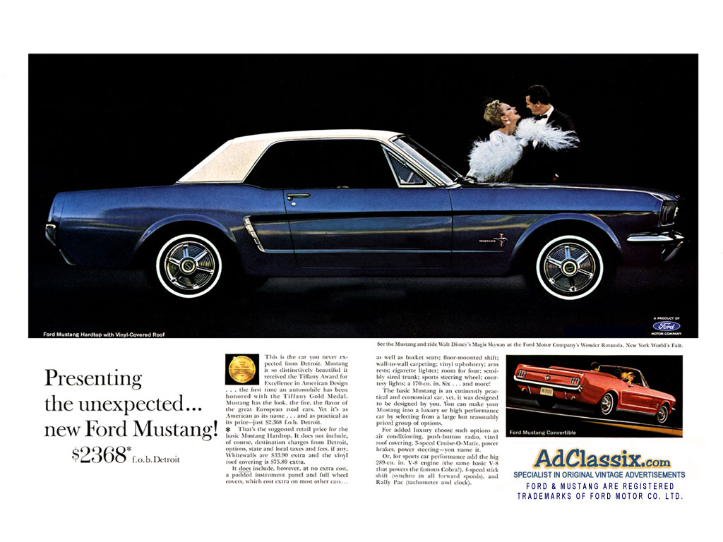 1964 Ford Mustang - Free Retro