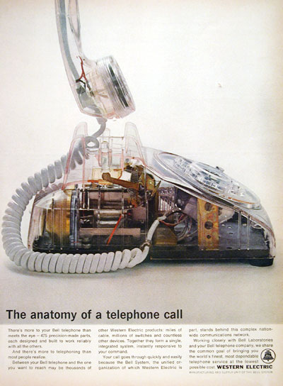 1964 Western Electric Bell Telephone #004600