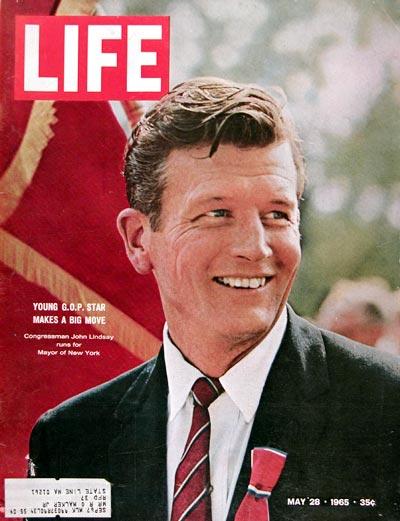 1965 Life Cover - John Lindsay #018549