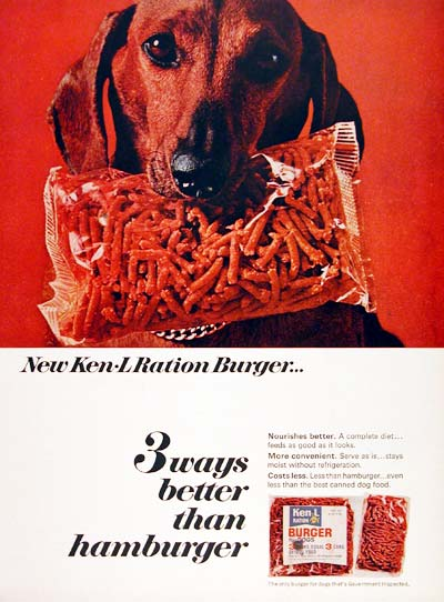 1966 Ken L Ration Dog Food #003669
