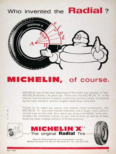 1966 Michelin Tires #023325