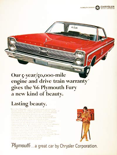 1966 Plymouth Fury #001179