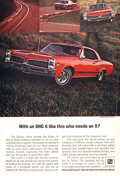 1966 Pontiac LeMans Sprint #002594