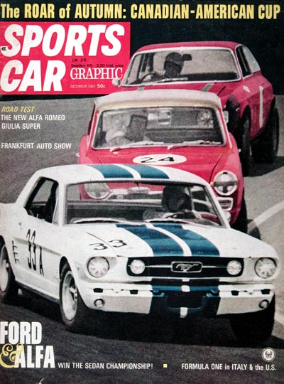 1966 sports car graphic magazine cover. Black Bedroom Furniture Sets. Home Design Ideas