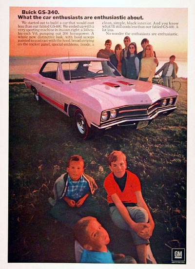 1967 Buick GS 340 #004739
