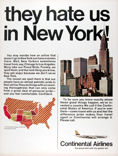 1967 Continental Airlines #024996