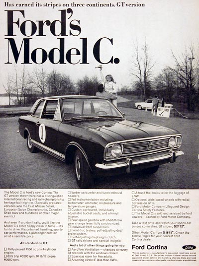 1967 Ford Cortina GT #004694