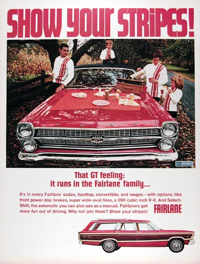 1967 Ford Fairlant GT Squire Wagon #025008
