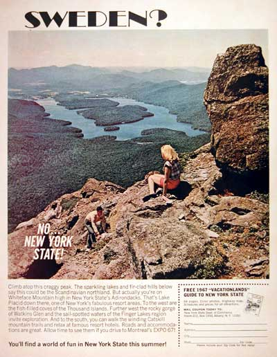 1967 New York State Tourism #004254