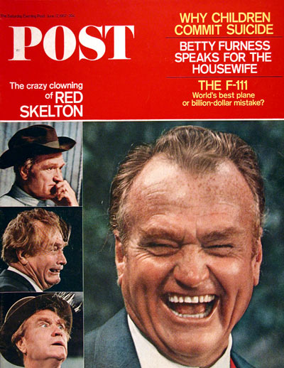 1967 Post Cover - Red Skelton #004270