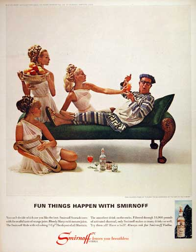 1967 Smirnoff Vodka - Phil Silvers #004241