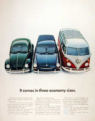 1967 VW Beetle Squareback Bus #004238