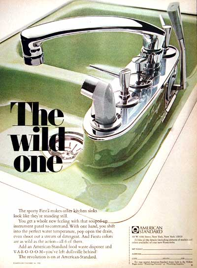 Vintage Sink Advertisement