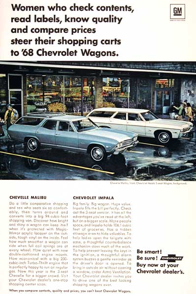 1968 Chevrolet Wagon #002598