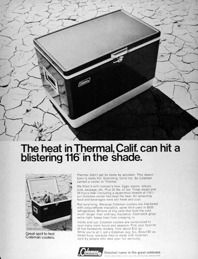 1968 Coleman Coolers #025177