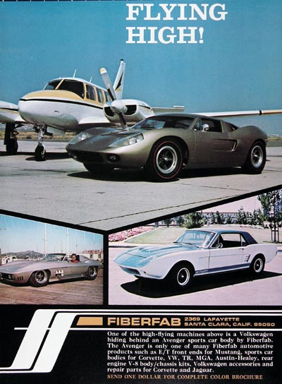 1968 Fiberfab Avenger Kit Cars #023859