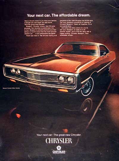 1969 Chrysler Newport Coupe