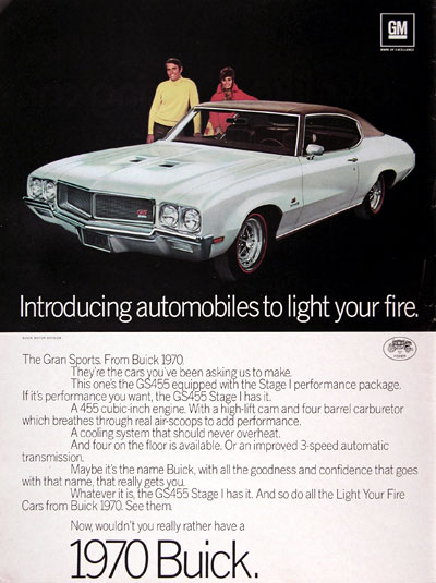 1970 Buick GS 455 Stage 1 #023386