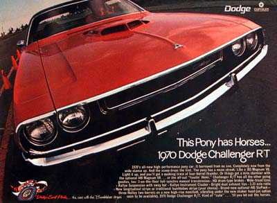 Dodge Challenger on Description 1970 Dodge Challenger R T Original Vintage Advertisement