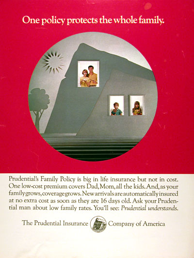 1970 Prudential Life Insurance #013051
