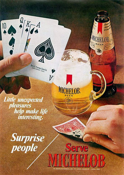 1971 Michelob Beer #0025250