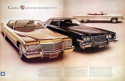 Cadillac on 1973 Cadillac Sedan De Ville Eldorado Convertible Classic Vintage