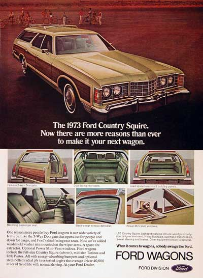 1973 Ford Country Squire #002611