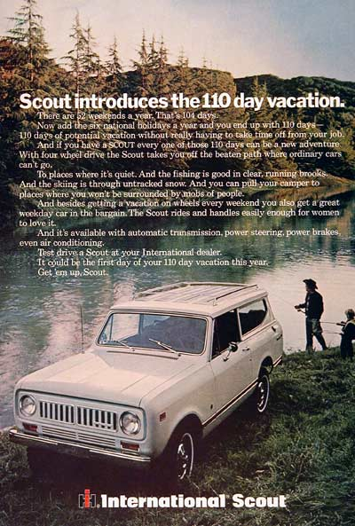 1973 International Scout #003032