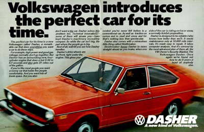 1974 Volkswagen Dasher