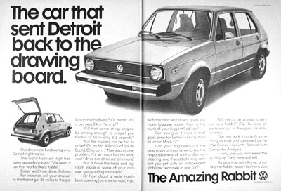 1976 VW Rabbit #004534